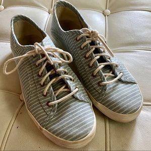 Less sneakers blue stripe sz 8.5 good condition